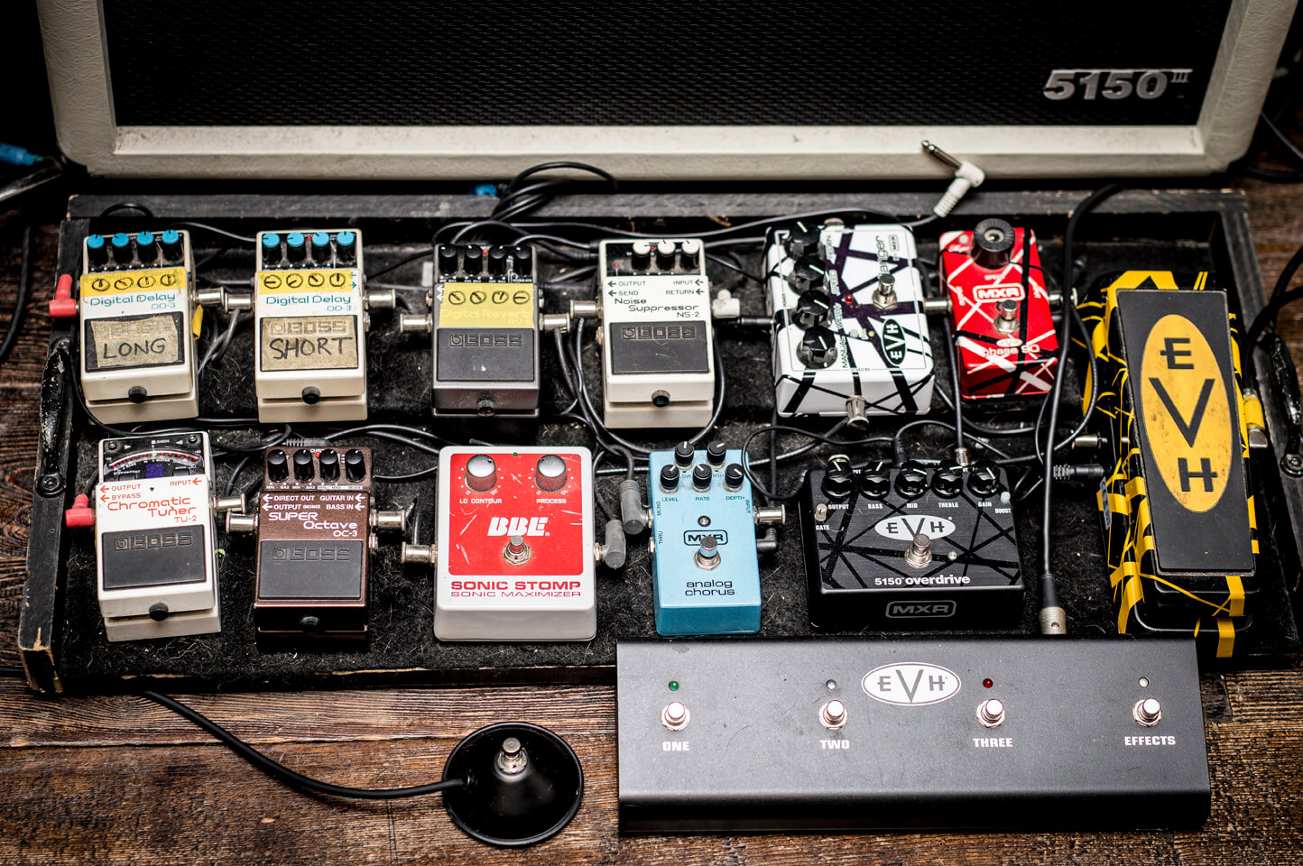 My Pedalboard Overview Evh Amp Gear Tv The Weekly Eddie